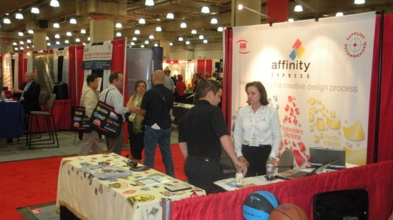 Affinity Express at the ASI Show, New York