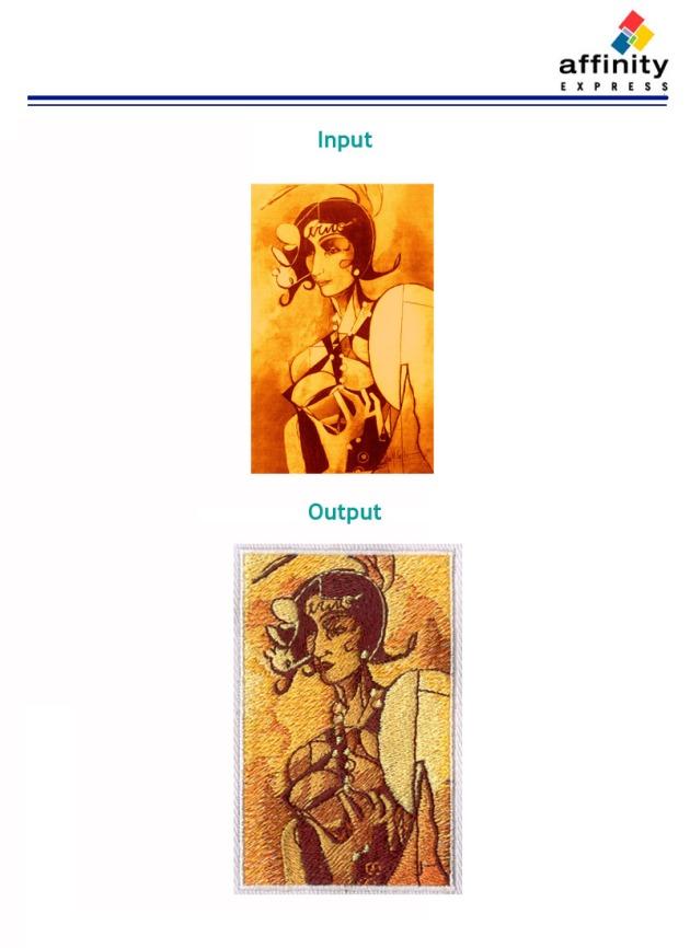 Digitizing Sample: Woman