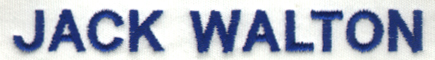 Embroidery Digitizing Sample: Text Clean up - After