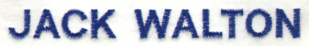 Embroidery Digitizing Sample: Text Clean up - Before