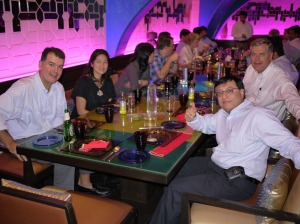 Affinity Express Management Team at Dinner