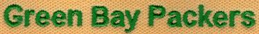 Embroidery Digitizing Sample: Even Text