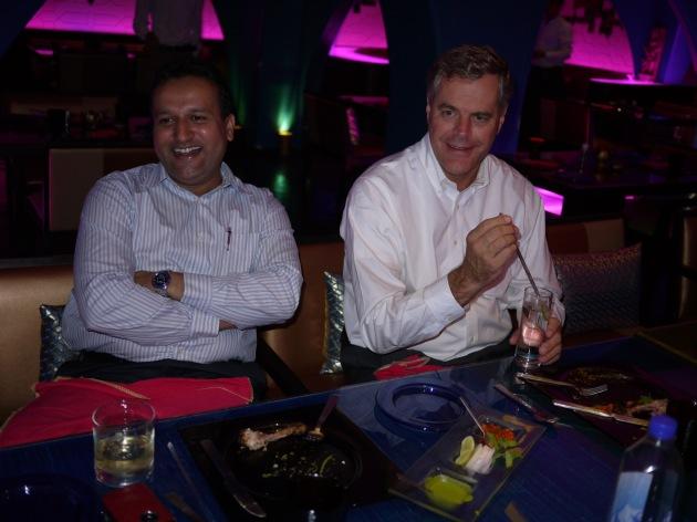 Affinity Express Team at Dinner
