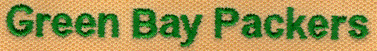 Embroidery Digitizing Sample: Uneven Text
