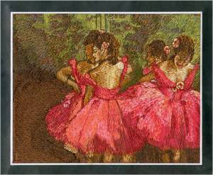 Affinity Express Holiday Card: Degas' Dancers in Pink