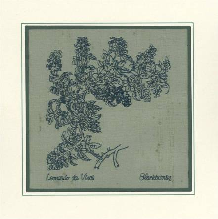 Affinity Express Holiday Card: da Vinci's Blackberries in Embroidery