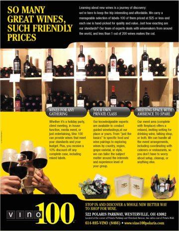 Print Ad Sample: Wine
