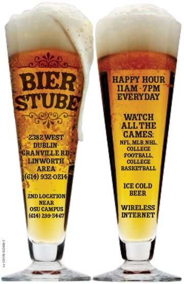 Print Ad Sample: Beer