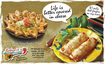 Print Ad Sample: Cheese