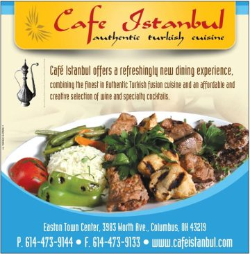 Print Ad Sample: Cafe Istanbul