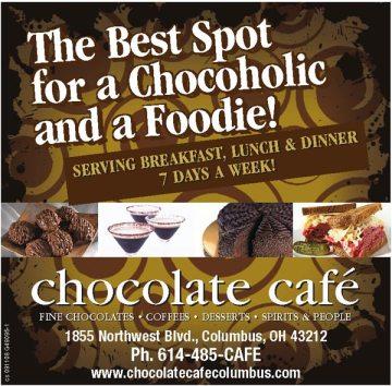 Print Ad Sample: Chocolate