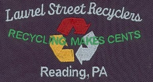 Embroidery Digitizing Sample Design: Laurel Street Recyclers