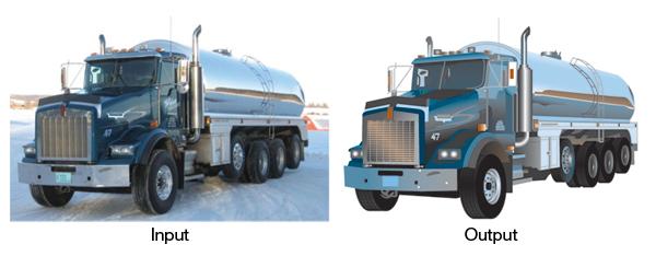 Vector Artwork: Truck