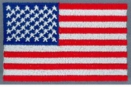 Embroidery Digitizing Sample Design: U.S. Flag