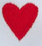 Embroidery Digitizing Sample: Red Heart