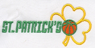 Embroidery Digitizing Sample: St. Patrick's