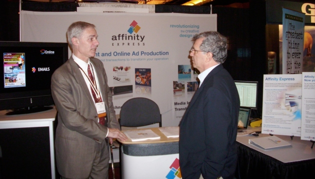 Affinity Express Booth at mediaXchange