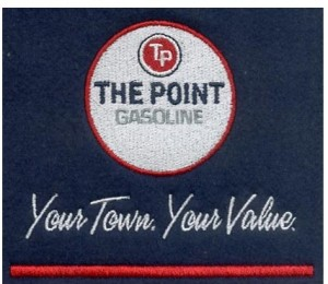 "Embroidery Digitizing Sample Design: ""The Point Gasoline"""