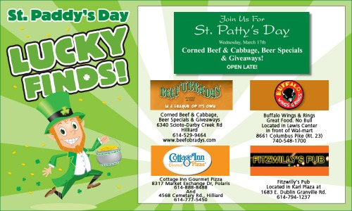 Print Ad for St. Patrick's Day