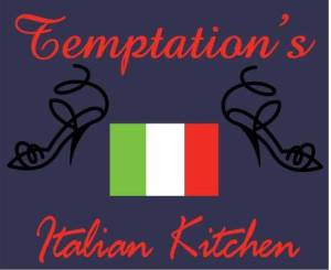 Vector Artwork Sample Design: Temptation's Italian Kitchen