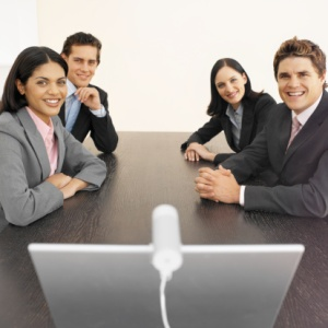Video Conferences are a great way to keep in touch with remote teams!