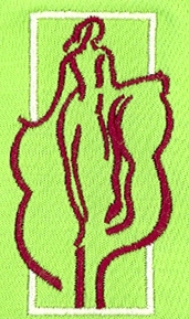 Sample Design: Woman in Embroidery