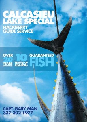 Print ad for fishing