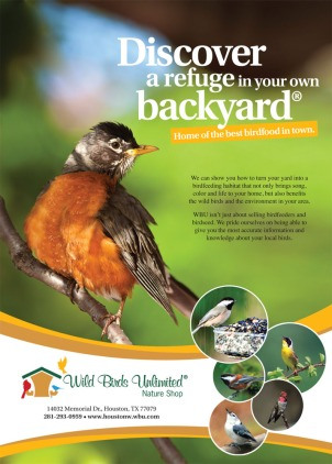 Print ad for birdfood