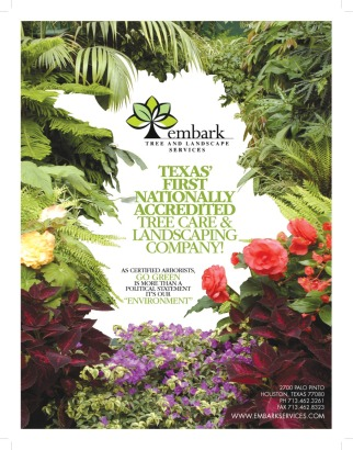 Print ad for landscaping services