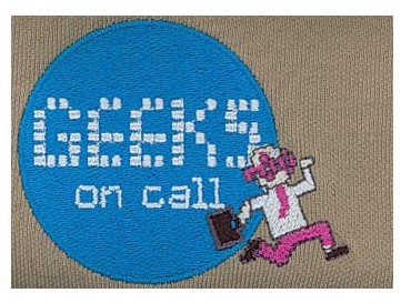 Embroidery Digitizing Design: Geeks on Call
