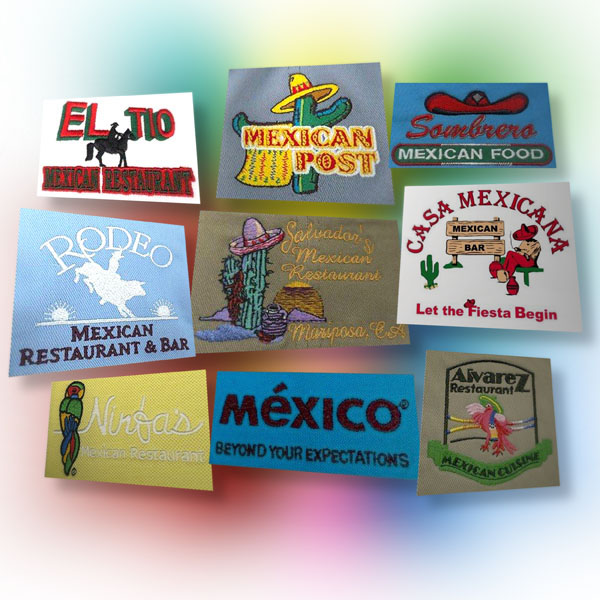 Embroidery digitizing and vector artwork Mexico-influenced designs