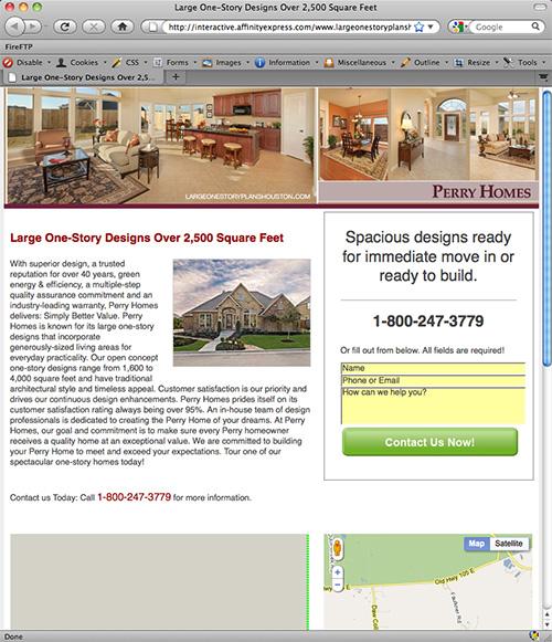 Website designed by Affinity Express