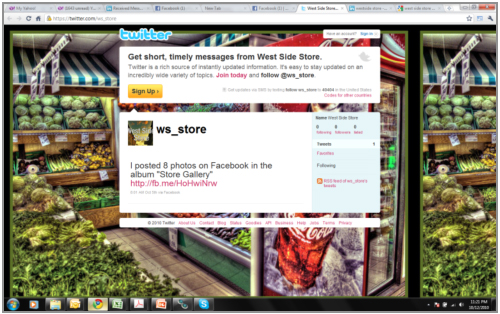 Twitter designed by Affinity Express