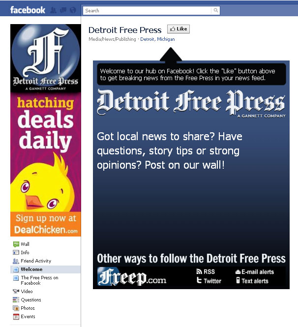 Detroit Free Press on Facebook