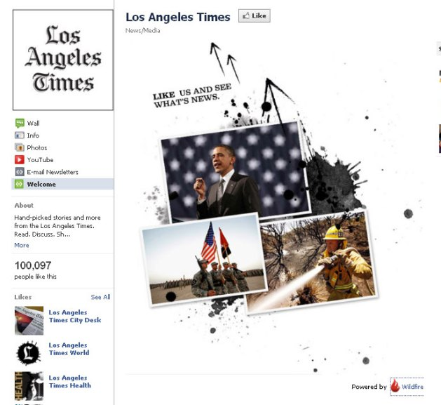 LA Times on Facebook: Like Us