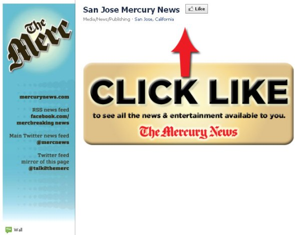 San Jose Mercury on Facebook: Like Us