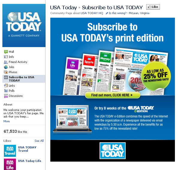 USA Today: Print