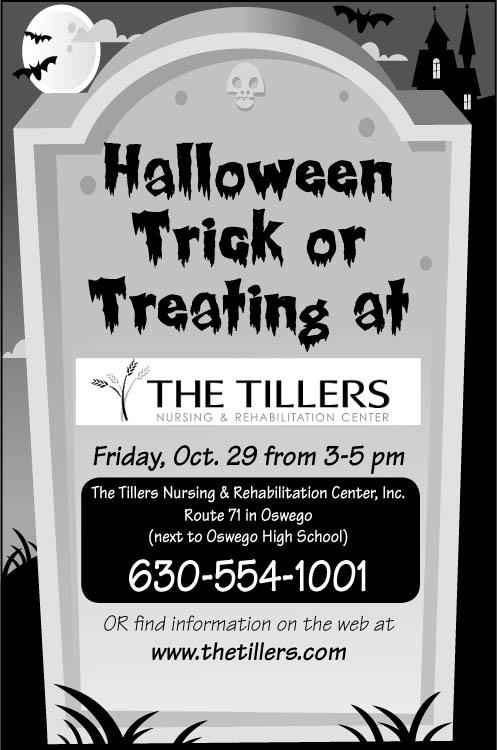 Print ad for Halloween