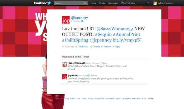 JCPenney on Twitter