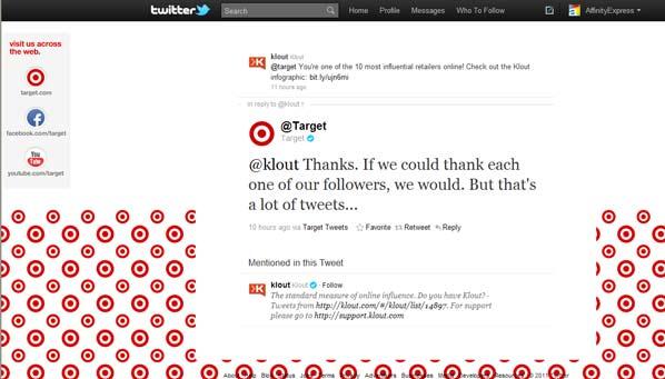 Target on Twitter