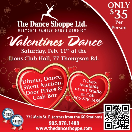 Ad for Valentine's Dance