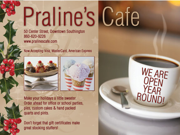 Ad for cafe