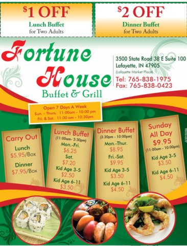 Ad for Fortune House