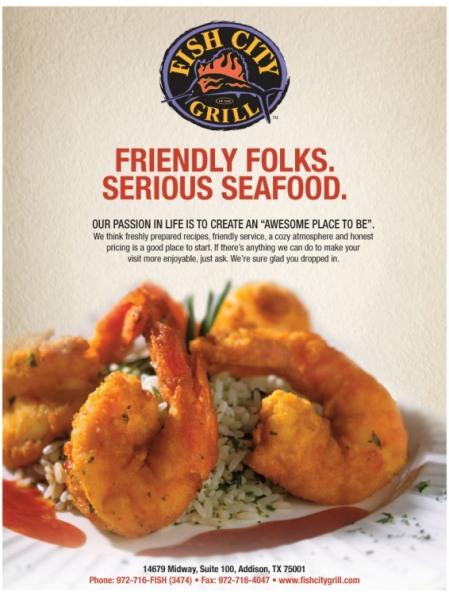 Seafood ad