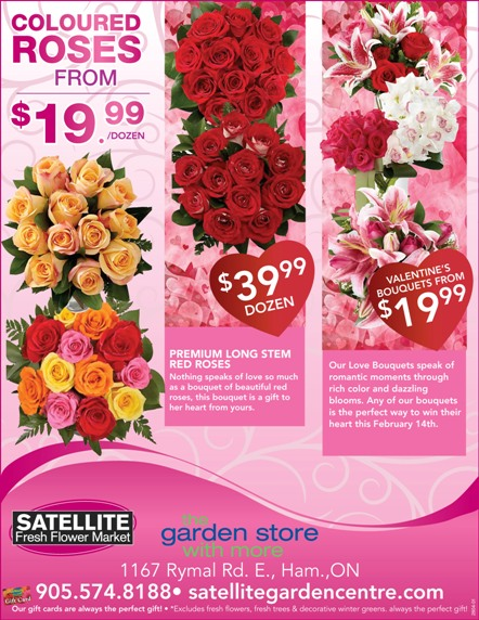 Valentine's Ad for Flowers