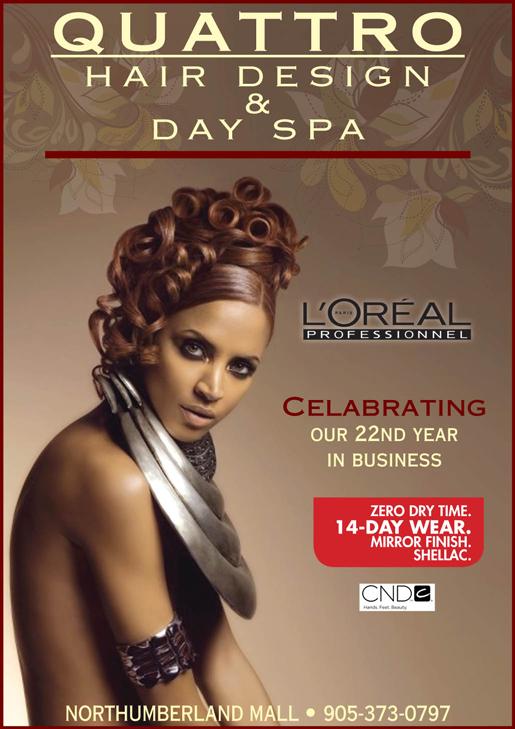 Print Ad: Hair Design Spa