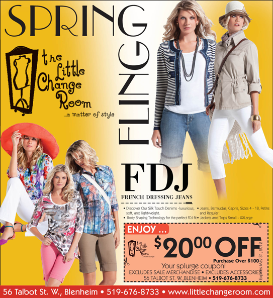 Print Ad: Spring Clothing