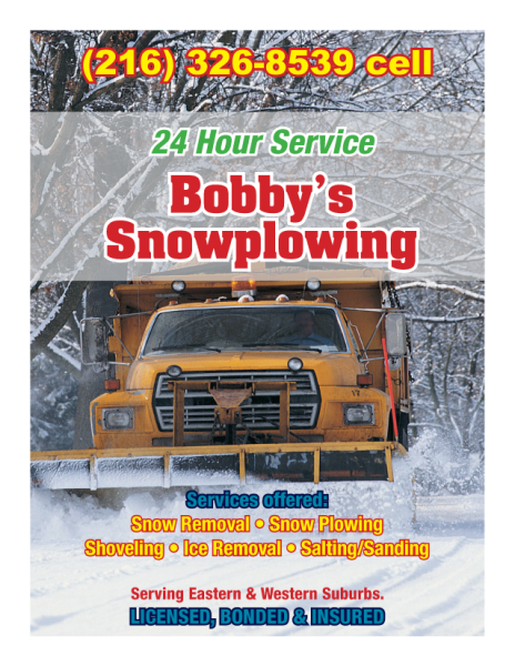 Direct Mail for Snowplowing Service
