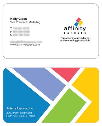 Crisp and creative business card design