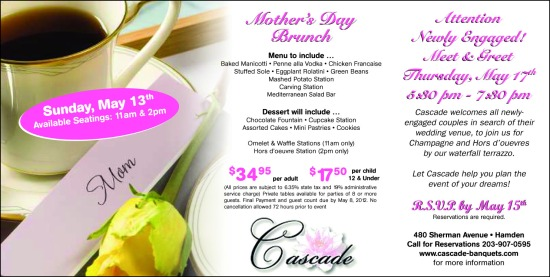 Mother's Day Ad: Brunch